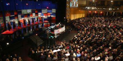 El martes, 10 de noviembre, se llevó a cabo el debate. Foto:Getty Images