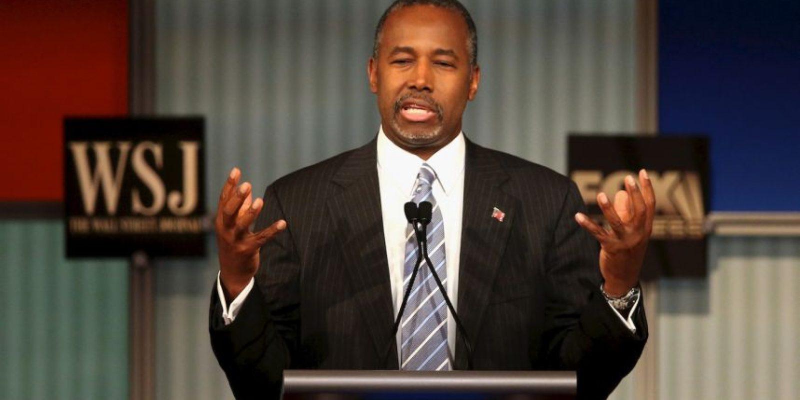 Ben Carson bromeó sobre las indagaciones que se han hecho recientemente sobre su pasado. Foto:Getty Images