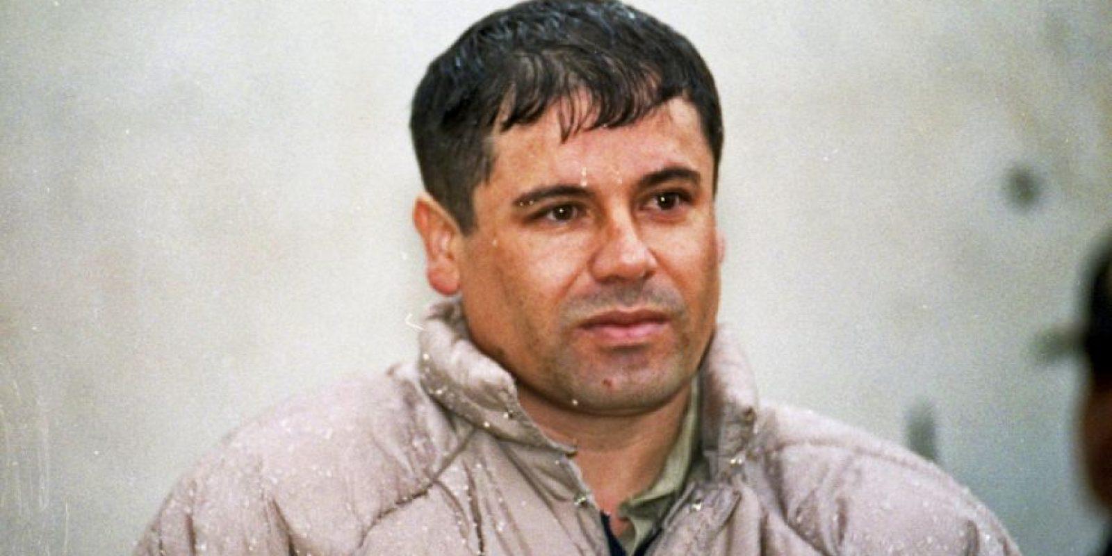"""2. Joaquín """"El Chapo"""" Guzmán Foto:AP"""