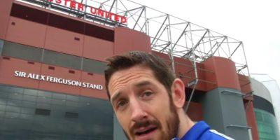 Y el luchador fue a Old Trafford a buscar al delantero para cobrar venganza… pero no lo encontró. Foto:WWE