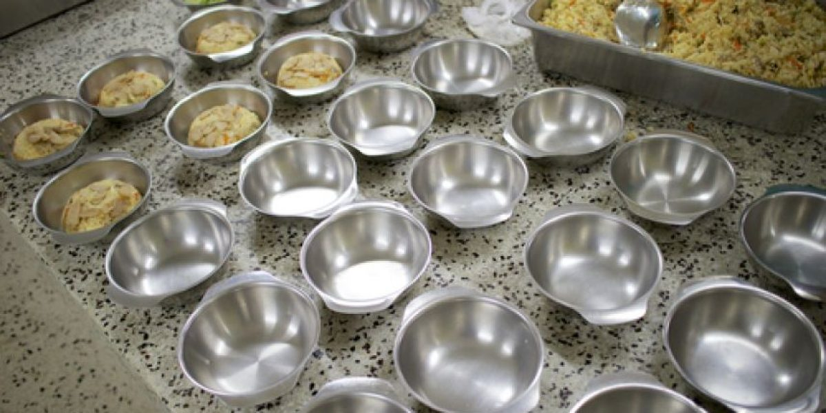 Los pacientes del Hospital General almorzarán arroz y sopa