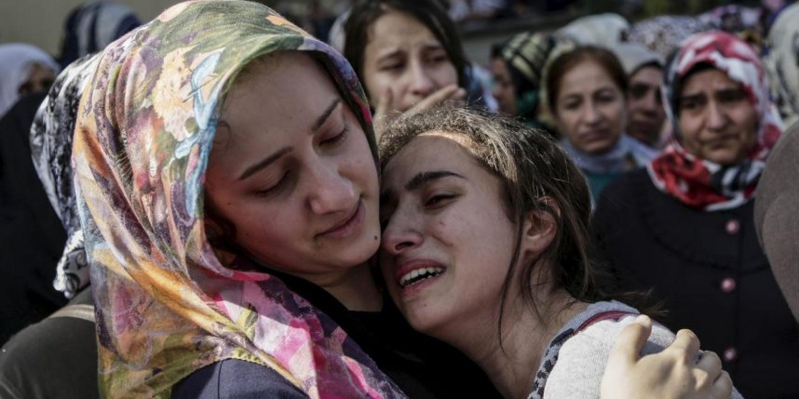 La mayoría de estas mujeres fueron capturadas en los territorios que ISIS se apodera. Foto:AFP