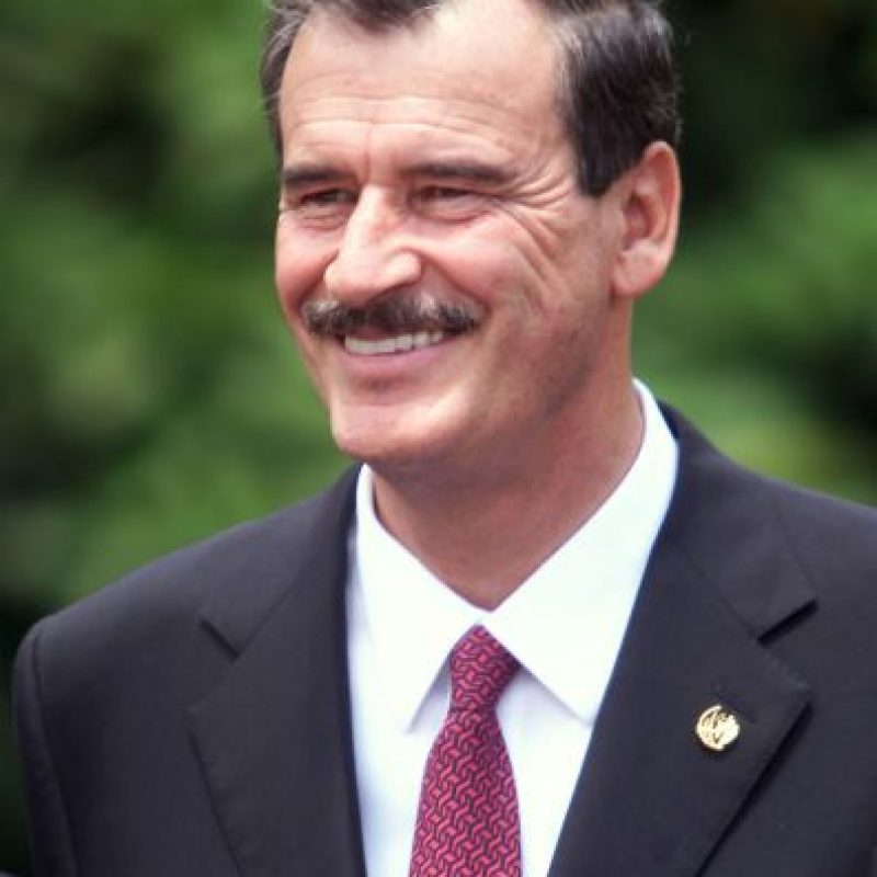 Vicente Fox, presidente de México de 2000 a 2006 Foto: Getty Images