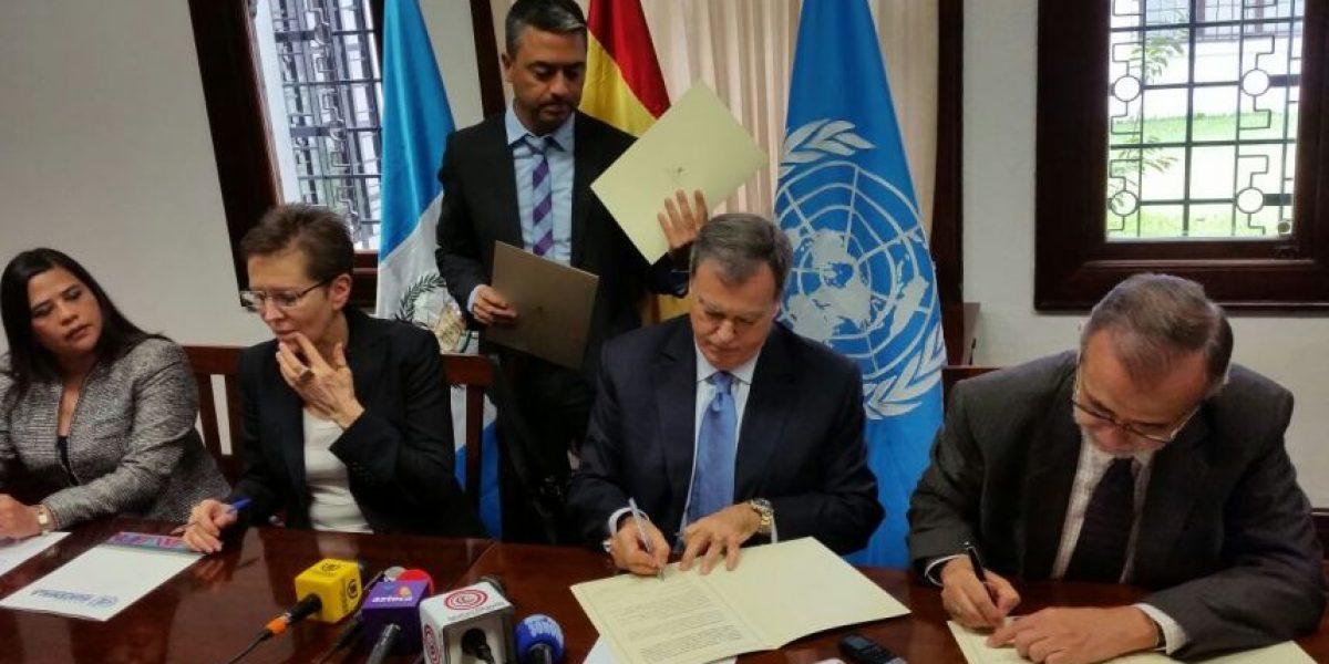"""Gobierno de España: """"Estamos satisfechos con la CICIG"""""""