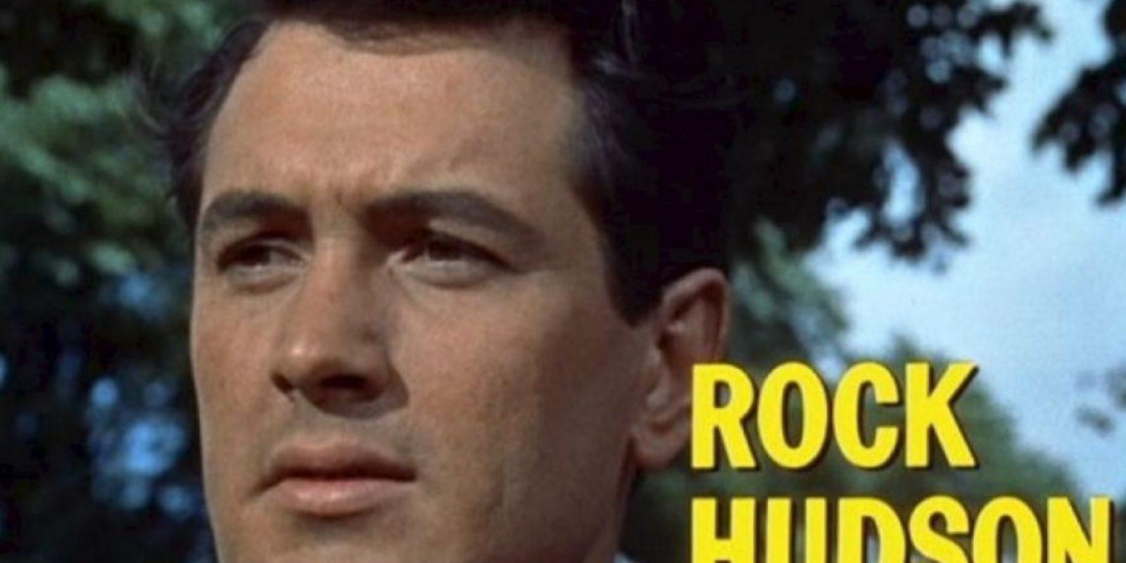 Rock Hudson- El actor estadounidense murió en 1985. Foto:Wikimedia