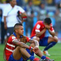 12. Chile es el líder de la eliminatoria, pero tiene conflictos de egos protagonizados por Vidal y Alexis Sánchez Foto:Getty Images