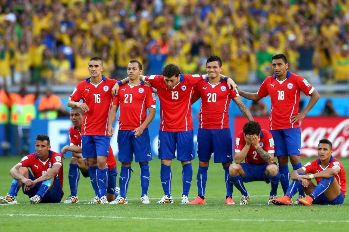 7. Chile se juega el liderato en Santiago Foto:Getty Images