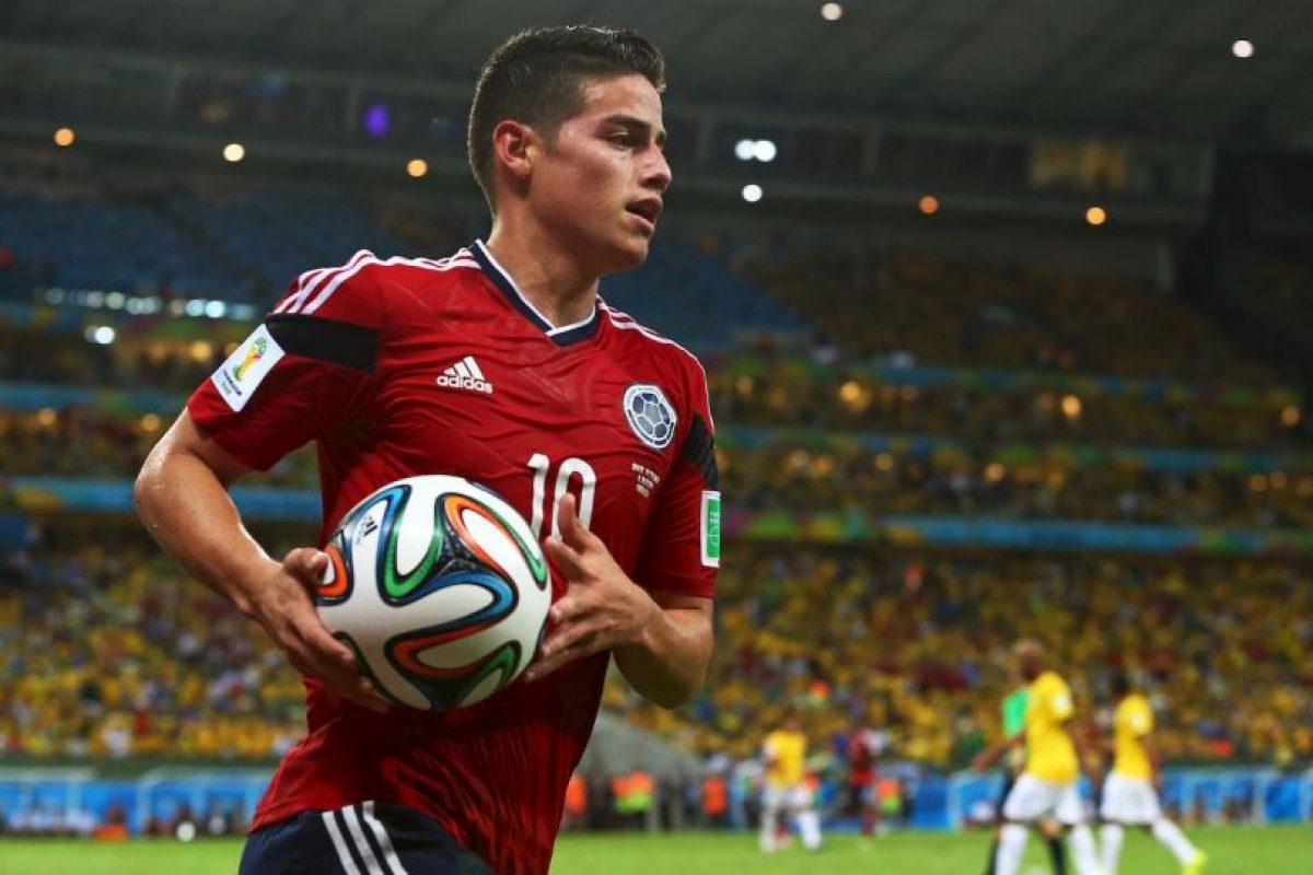 10. Colombia recupera para este partido a James Rodríguez, su referente Foto:Getty Images