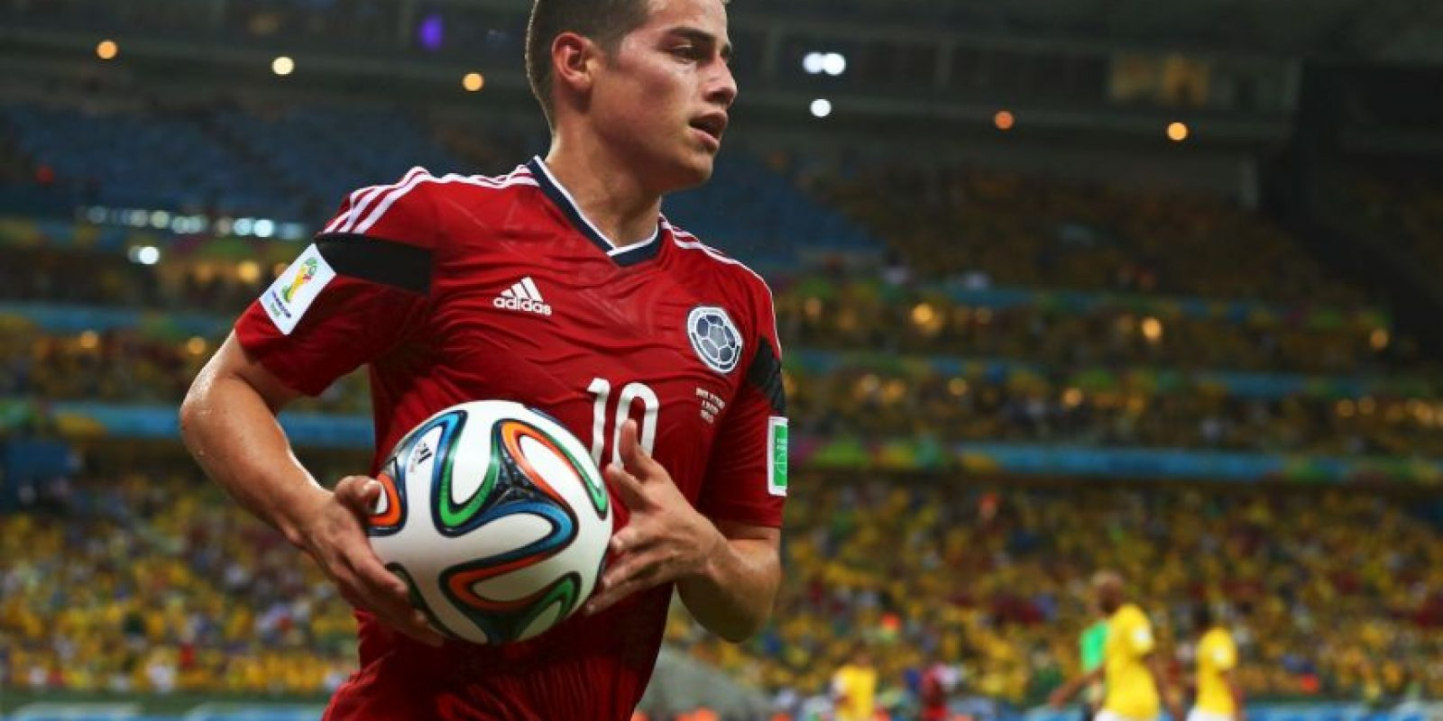 10. Colombia recupera para este partido a James Rodríguez, su referente Foto: Getty Images