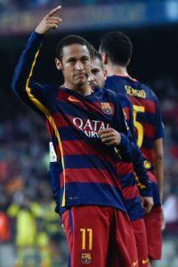 """""""Ney"""" es el actual máximo goleador de la Liga de España Foto:Getty Images"""