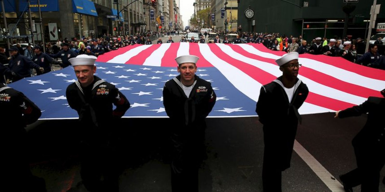 El presidente agregó que aún falta mucho por hacer en pro de aquellos que sirvieron al país. Foto:Getty Images