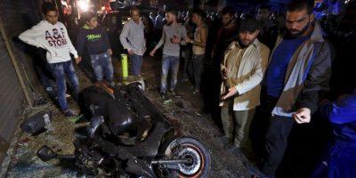 De acuerdo con medios locales se trató de dos hombres bomba. Foto:AP