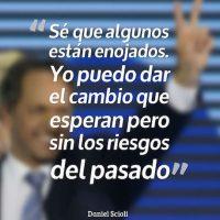 Daniel Scioli, Frente para la Victoria Foto:QuotesCover