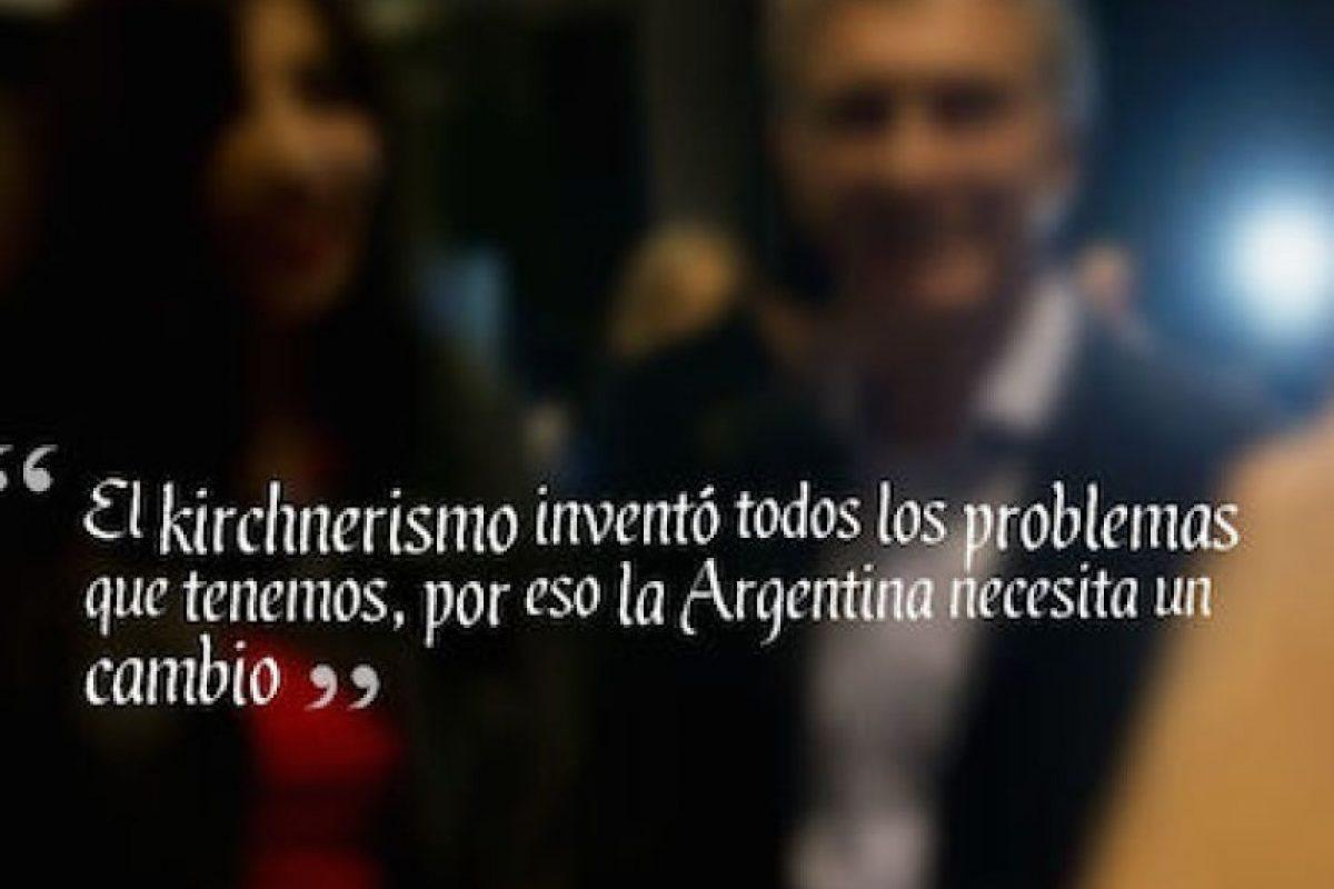"""Mauricio Macri, """"Cambiemos Foto:QuotesCover"""
