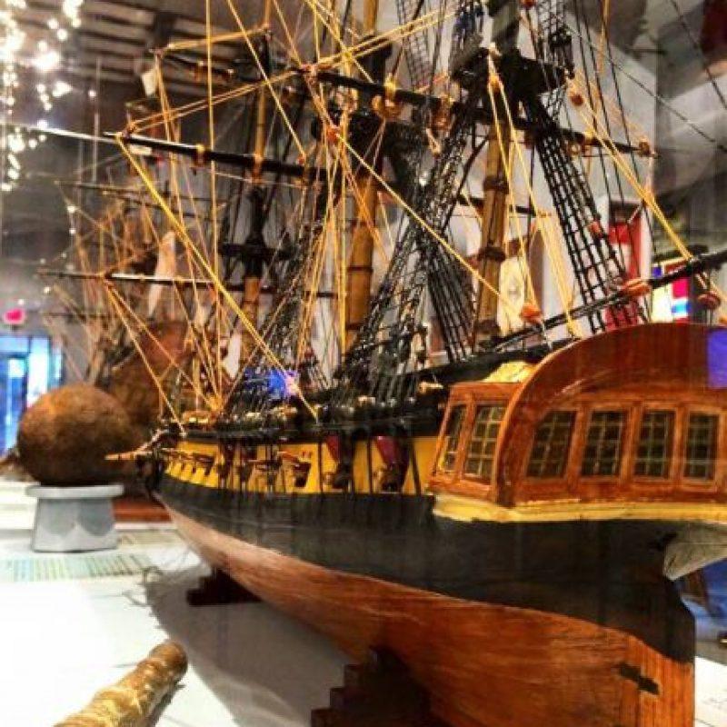Está localizado en el Viejo San Juan y ofrece información sobre la historia moderna y contemporánea de la navegación. Foto:Vía Facebook.com/elmuseodelmar