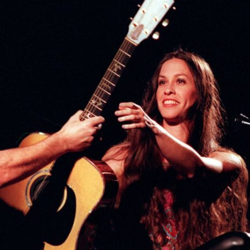 Alanis Morrisette. Talentosa, única, multipremiada.a Foto: vía Getty Images