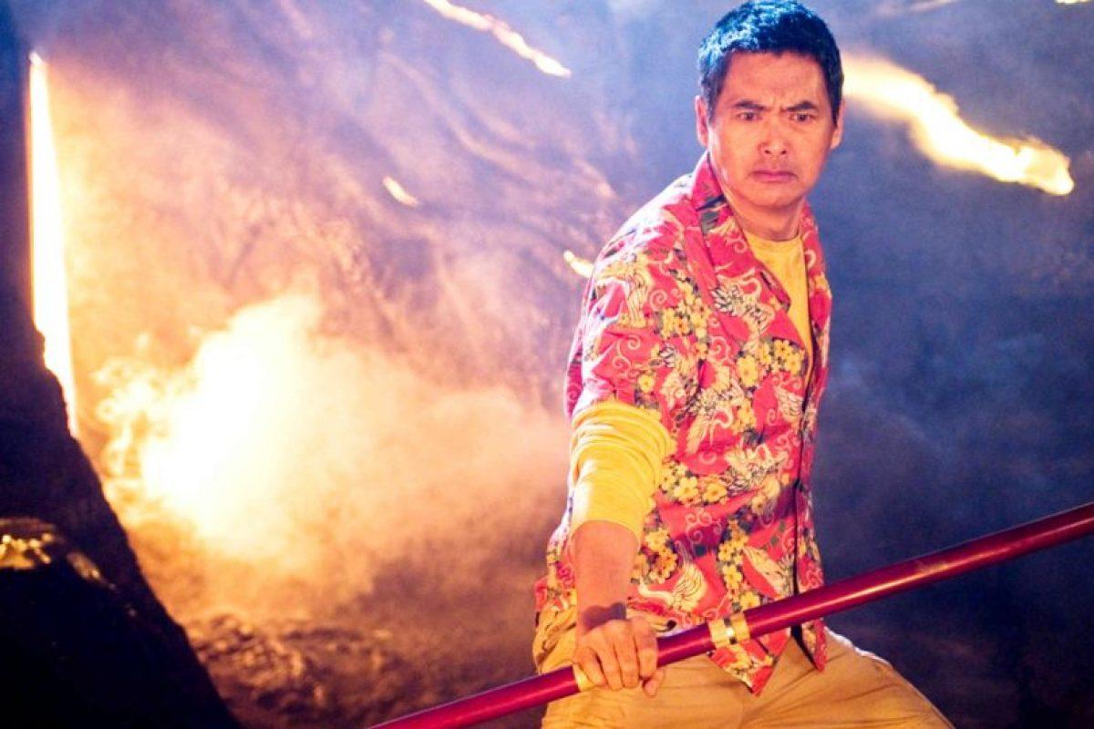 """¿En serio esto era el """"Maestro Roshi""""? Chow Yun Fat perdió toda la dignidad. Foto:vía 20th Century Fox"""
