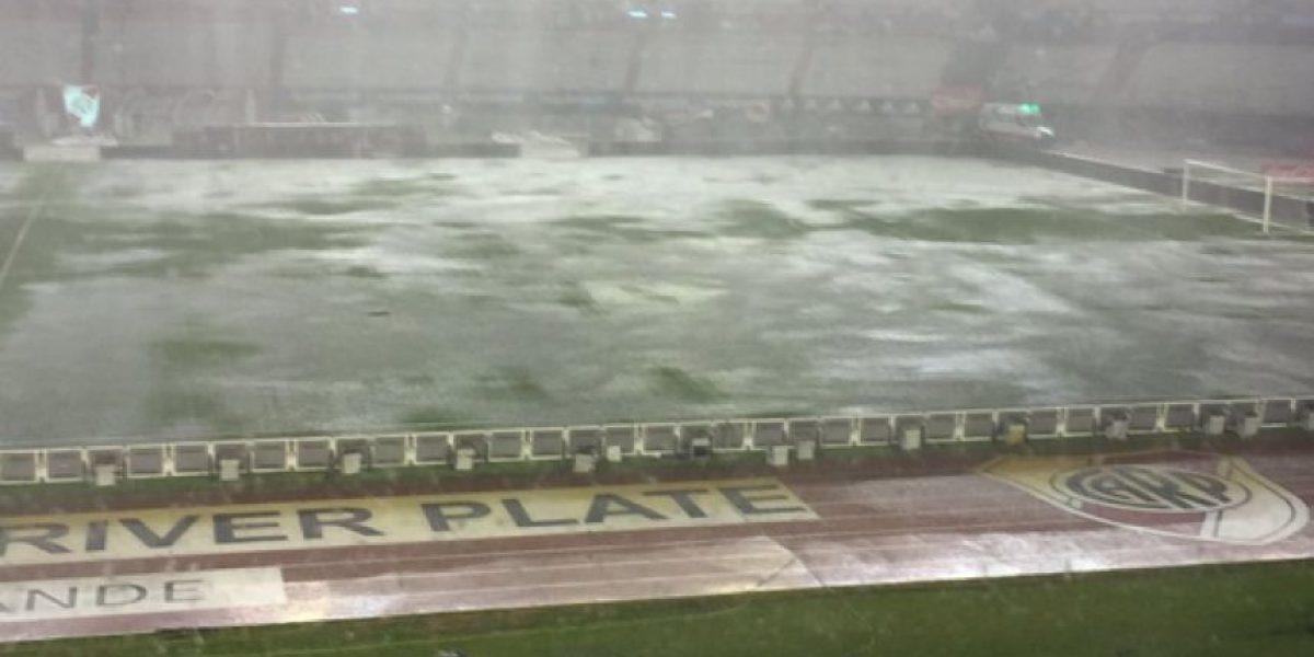 El Estadio Monumental se inundó y el Argentina-Brasil se pospone