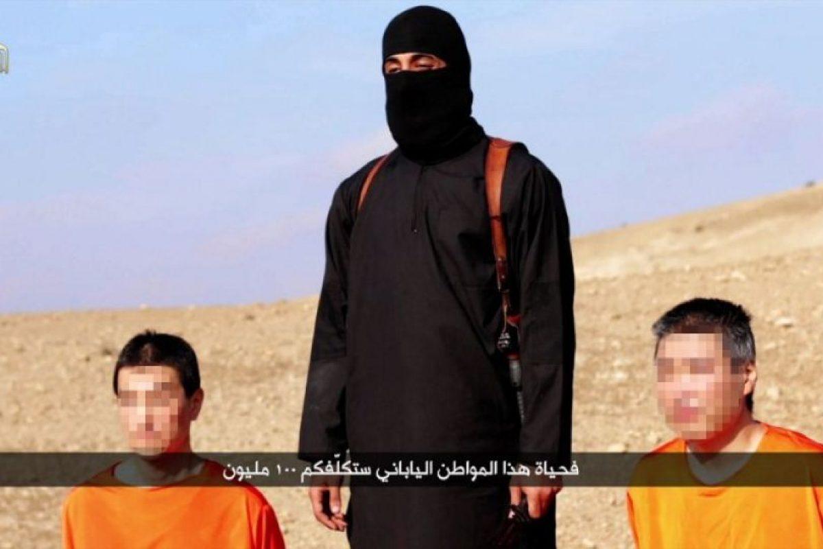Junto a Kenji Goto y Haruna Yukawa, rehenes japoneses asesinados por ISIS Foto:AFP