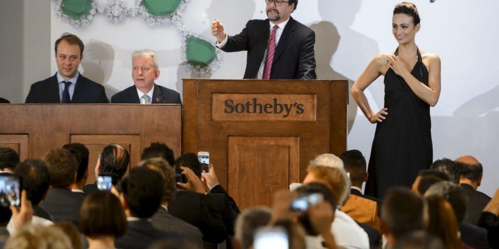 Su venta se ha vuelto noticia luego que batiera récord con la cantidad que se pagó por él Foto:AFP