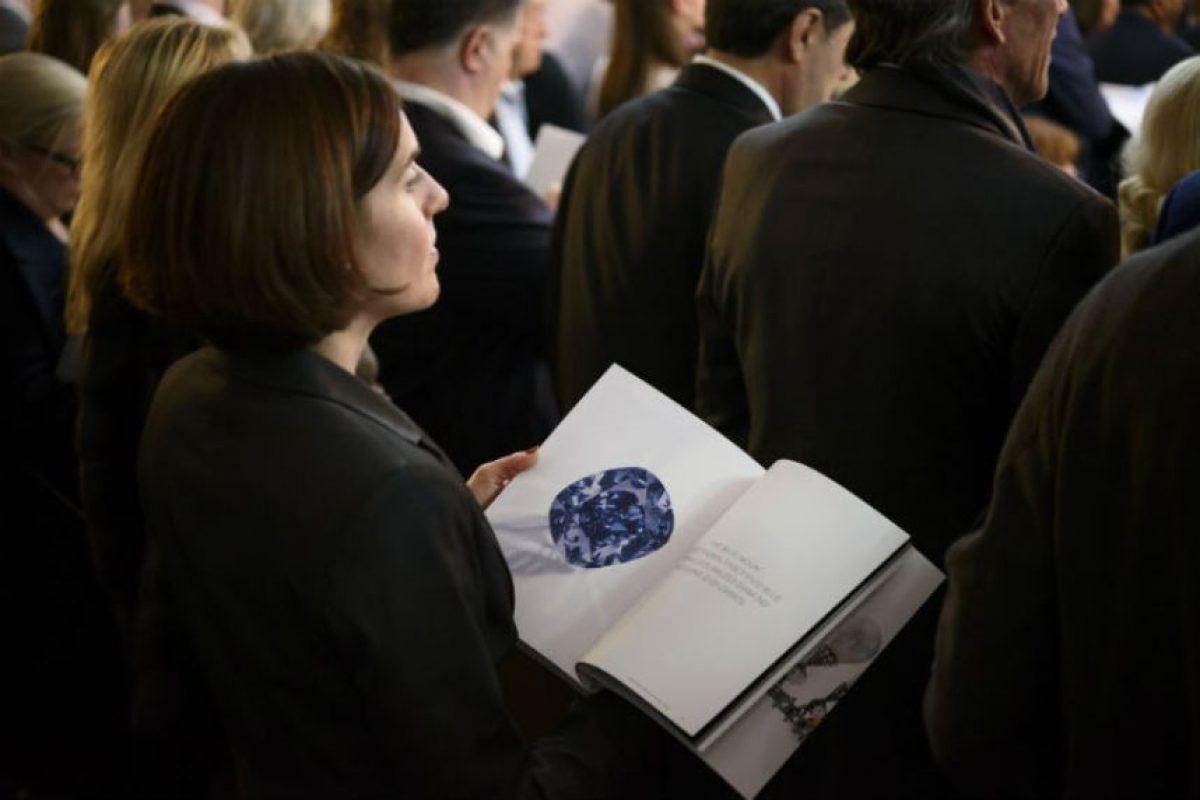 El diamante fue subastado por Sotheby's en Ginebra. Foto:AFP