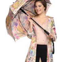Abrir un paraguas en un lugar cerrado Foto:instagram.com/rainandraining