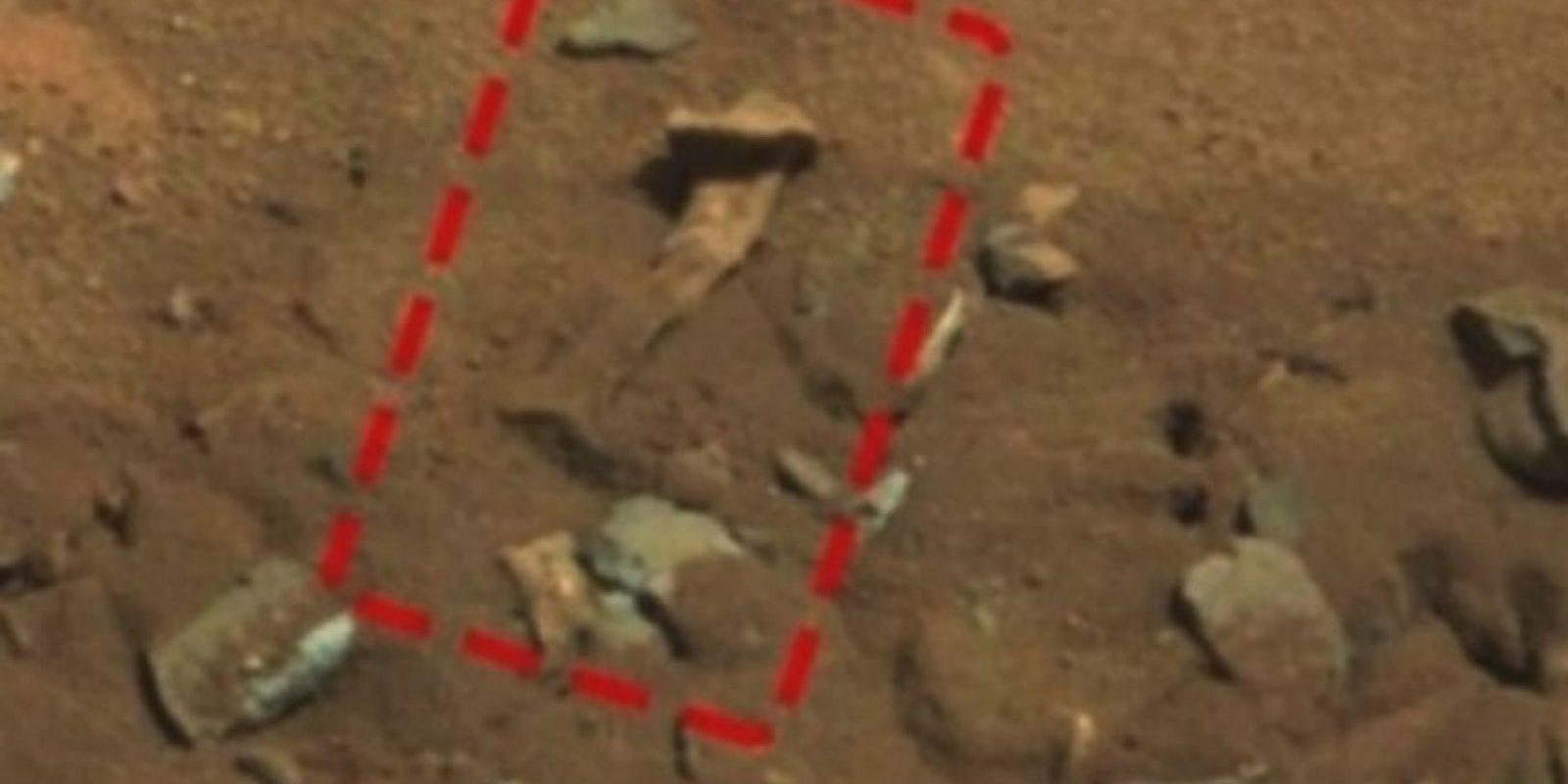 Un fémur Foto: NASA