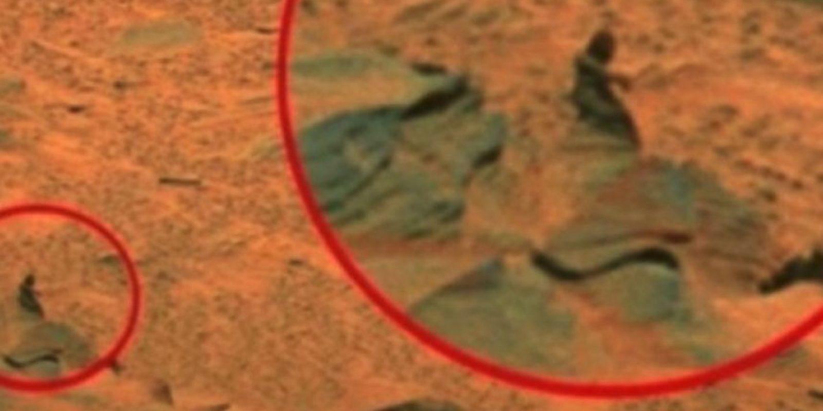 Una muje Foto:NASA