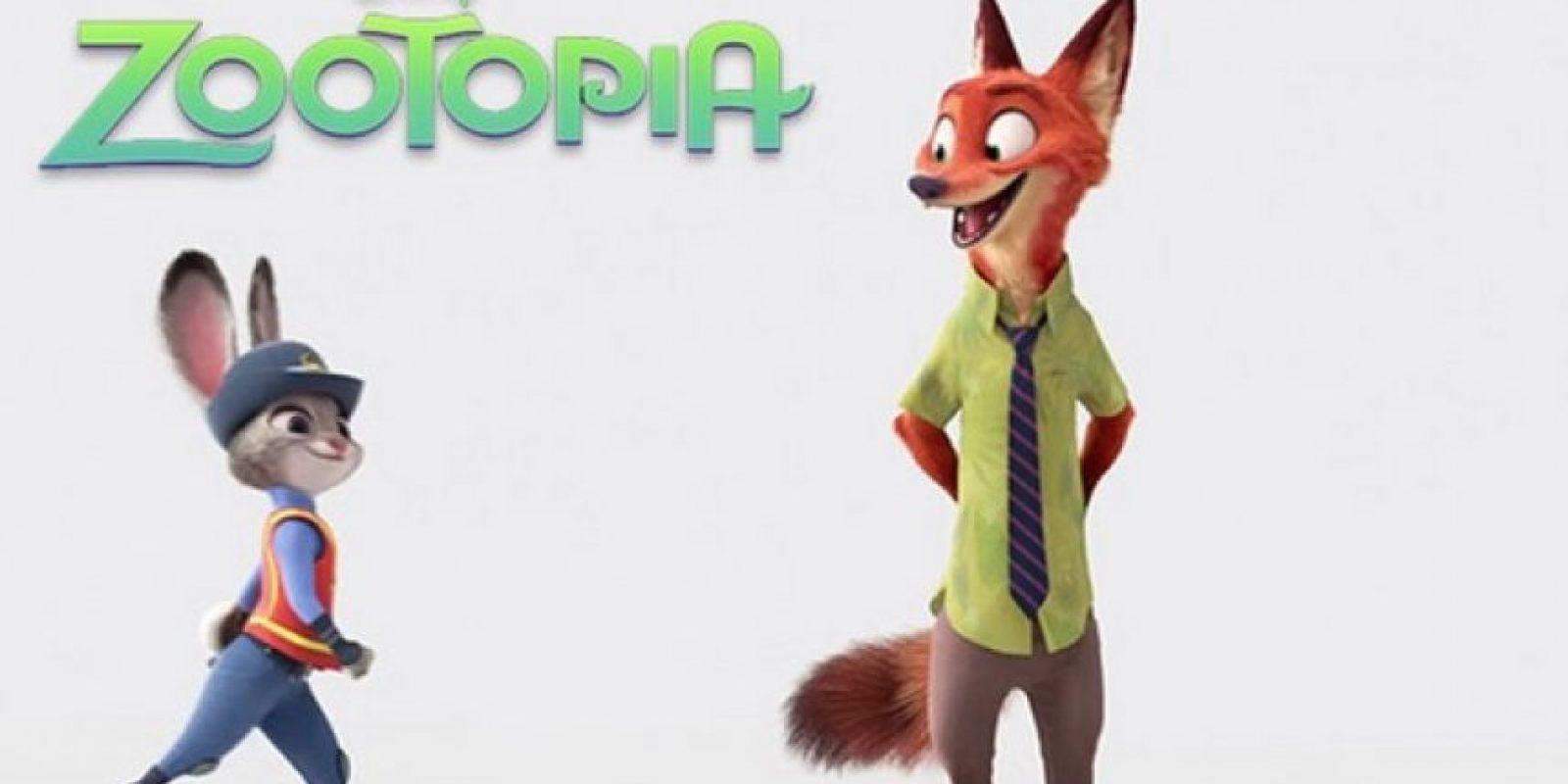 """""""Zootopia"""" – 4 de marzo de 2016 Foto:Disney"""
