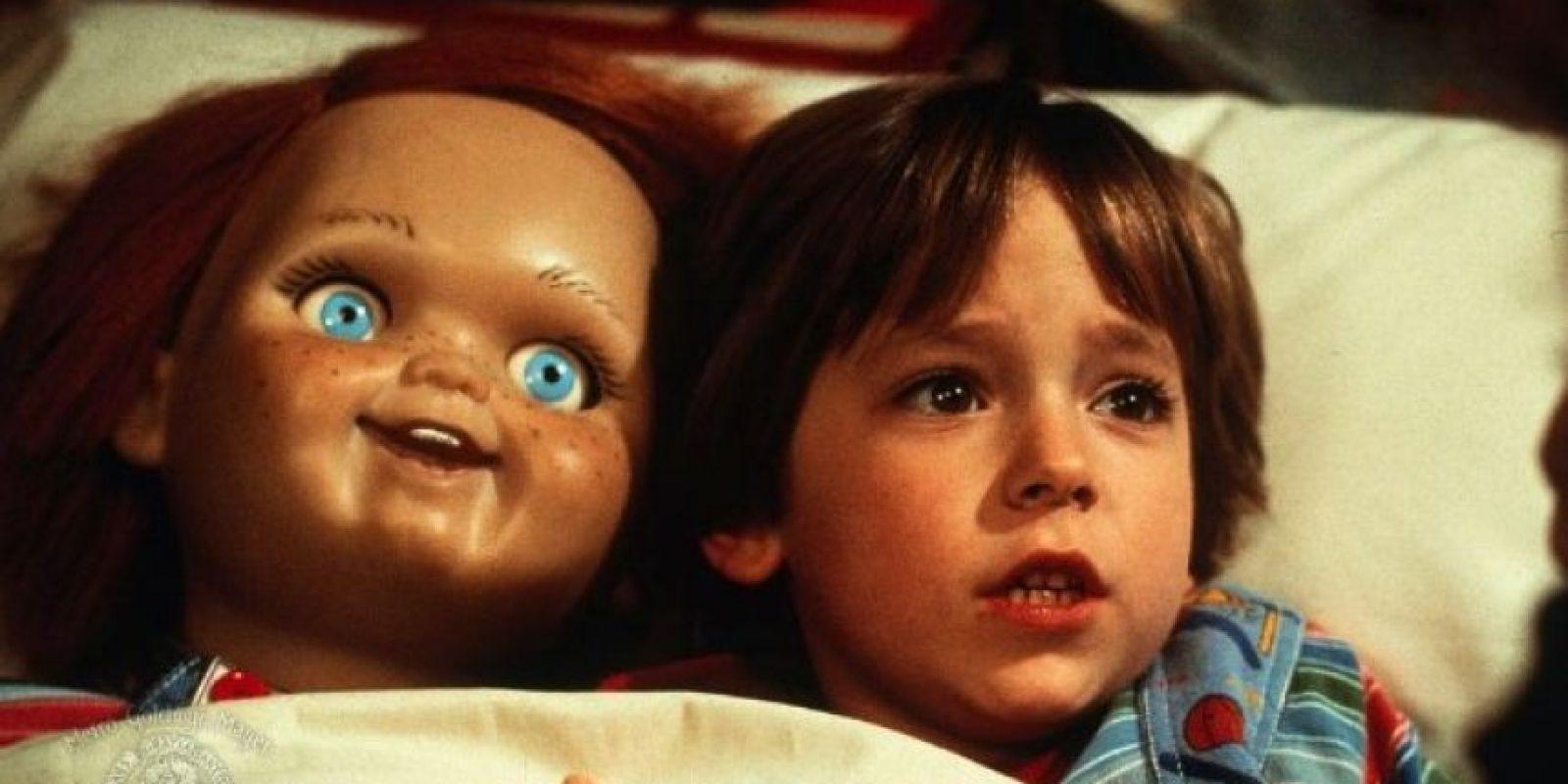 """A los 7 años, interpretó a """"Andy Barclay"""" de la película """"Chucky: el muñeco diabólico"""" (""""Child's Play"""") Foto:IMDB"""