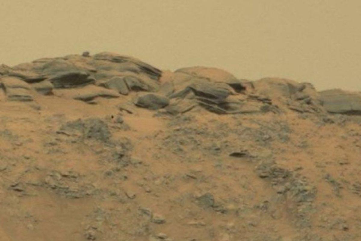 Fotografía difundida por la NASA Foto:http://mars.jpl.nasa.gov/msl-raw-images/msss/00771/mcam/0771MR0033150050403893E01_DXXX.jpg