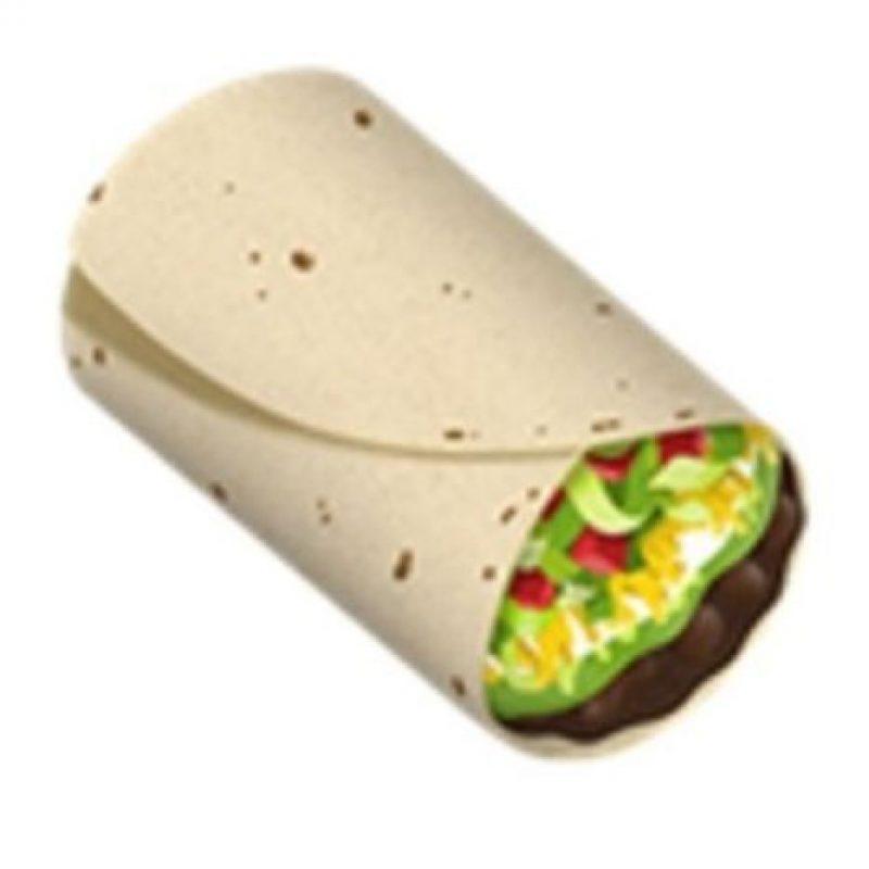 Burrito. Foto:vía emojipedia.org