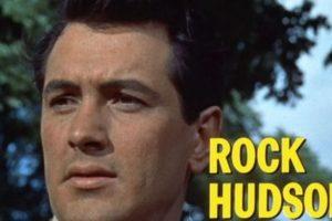 Rock Hudson- El actor estadounidense murió en 1985. Foto:Wikipedia