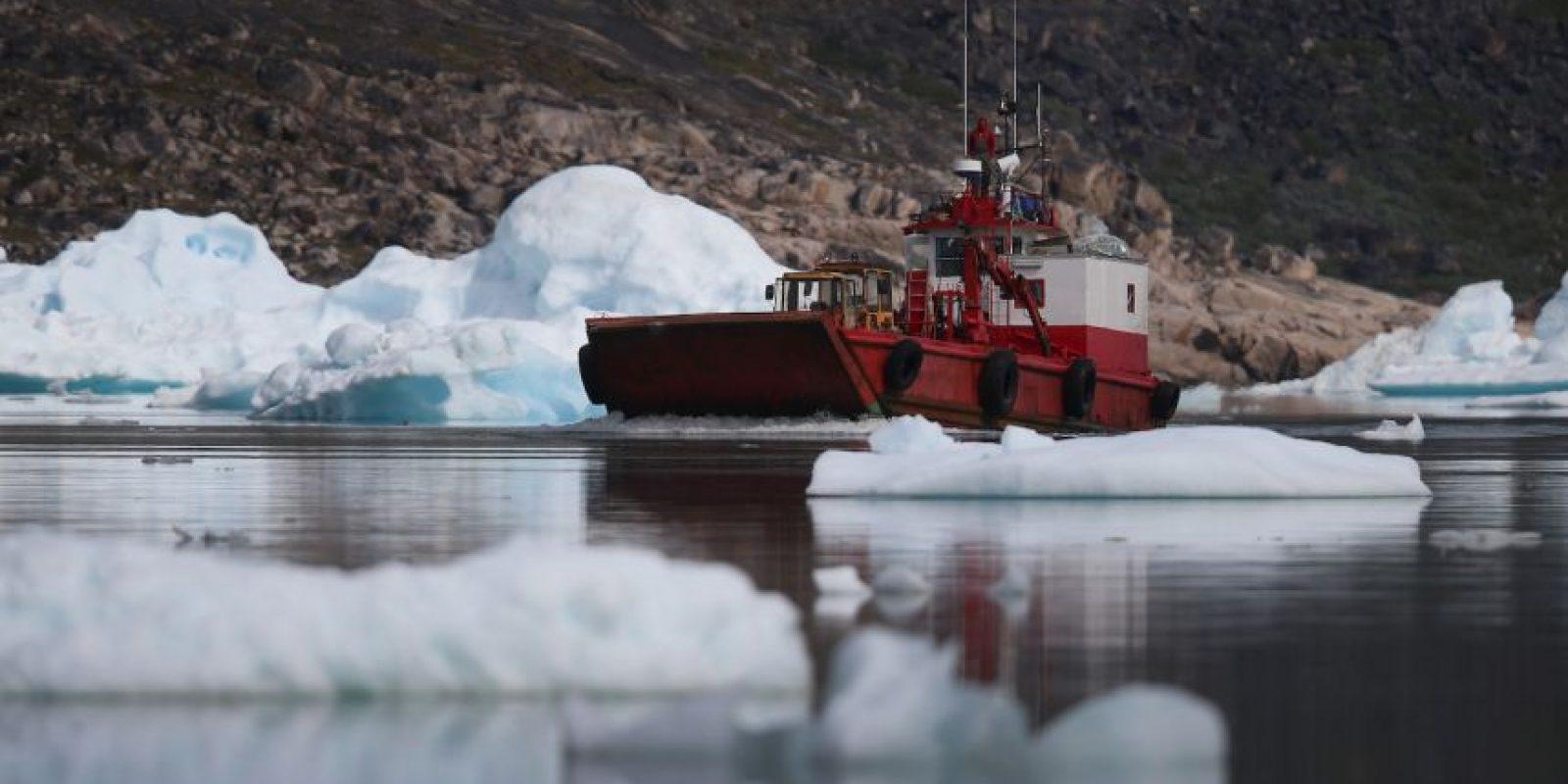 Pues el derretimiento de ambos provoca la elevación del nivel del mar a casi un metro. Foto:Getty Images