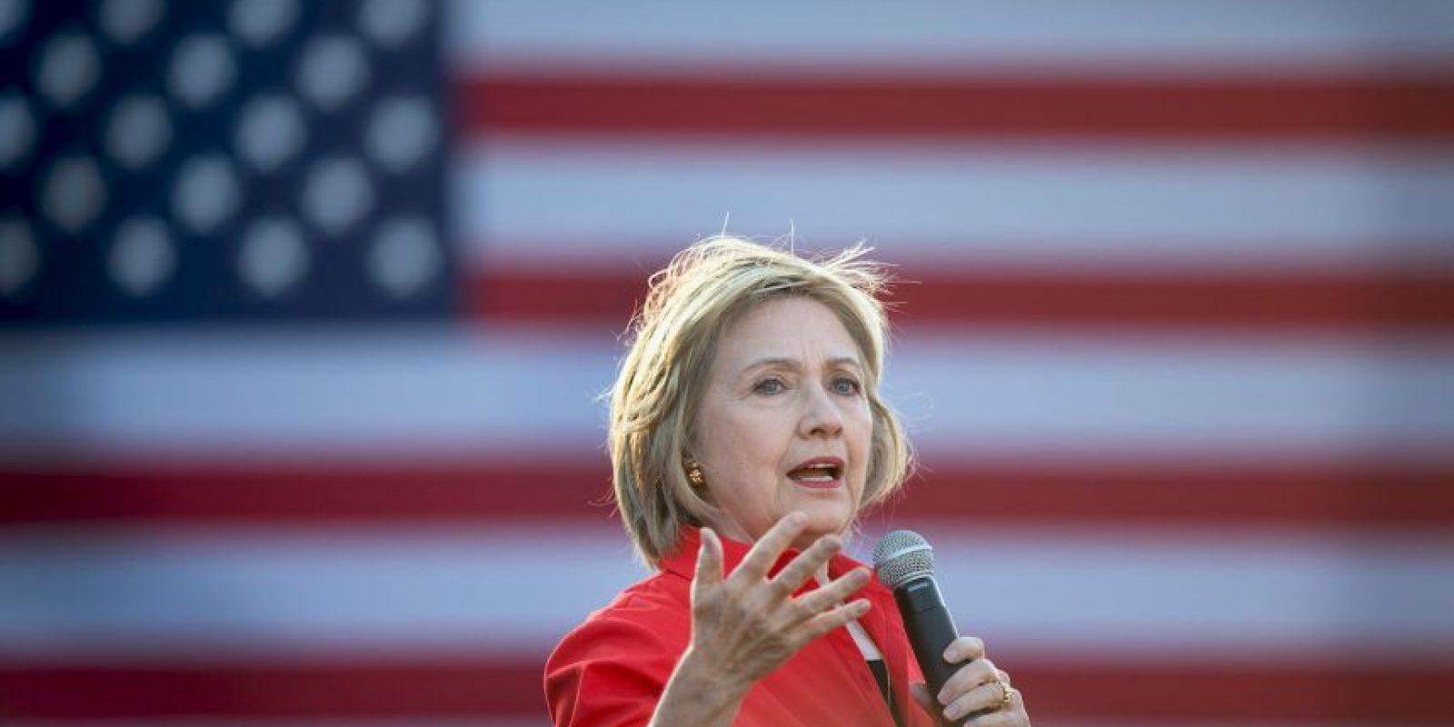 Desde sus inicios la candidata ha sido un foco de atención. Foto:Getty Images