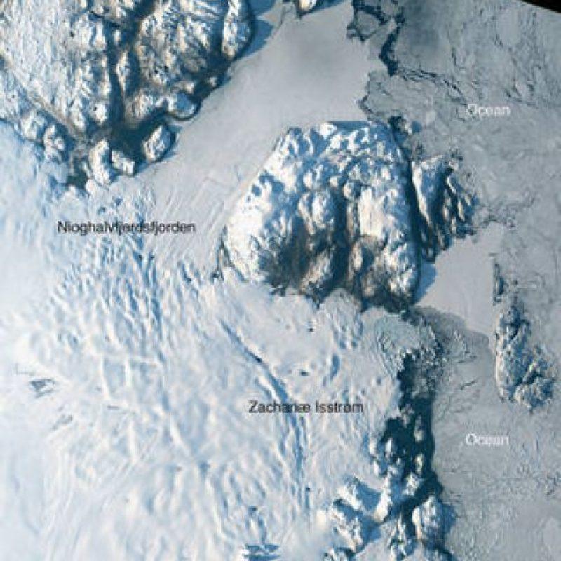 Es una de las masas de hielo más importantes de Groenlandia Foto:Vía nasa.gov
