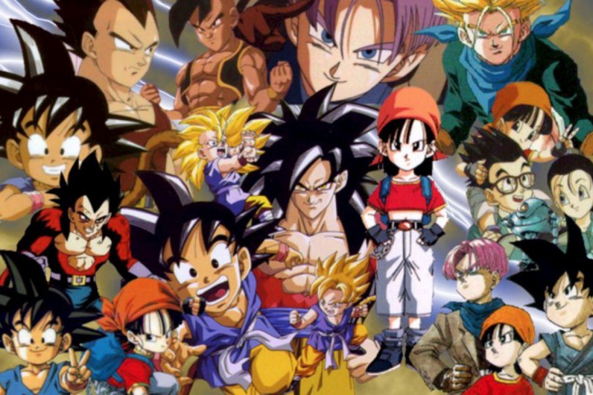 """(Y sí, todos saben que """"Dragon Ball GT"""" fue lo peor). Foto:vía Toei"""