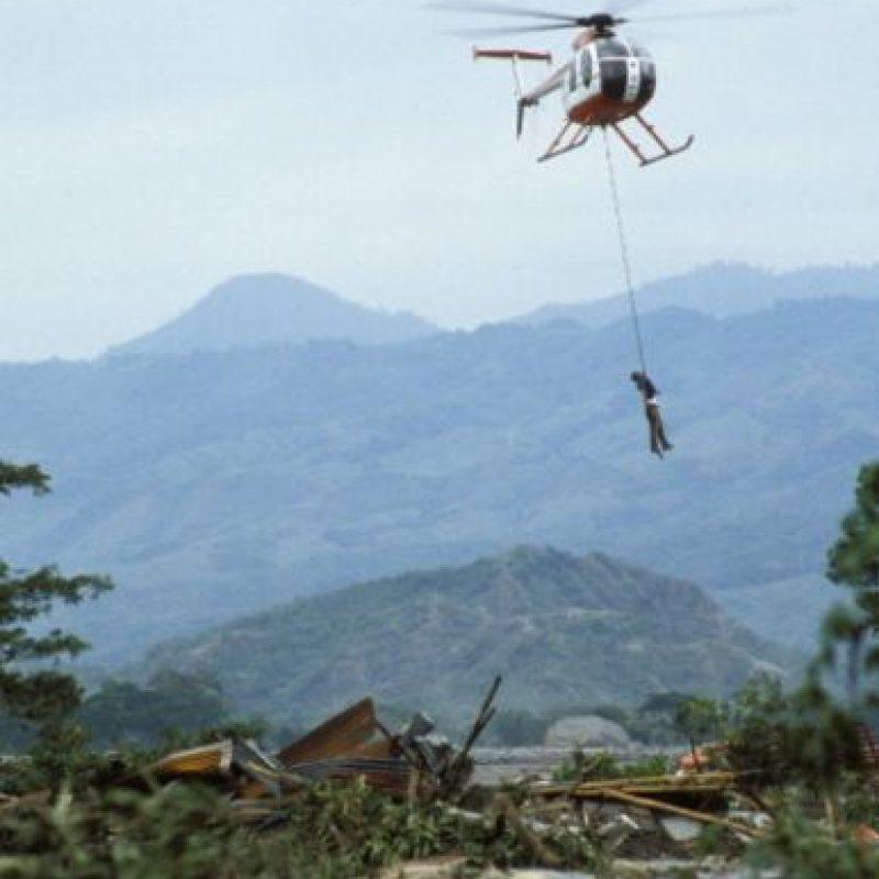 Muchas víctimas murieron por las difíciles condiciones de rescate. Foto:vía Getty Images