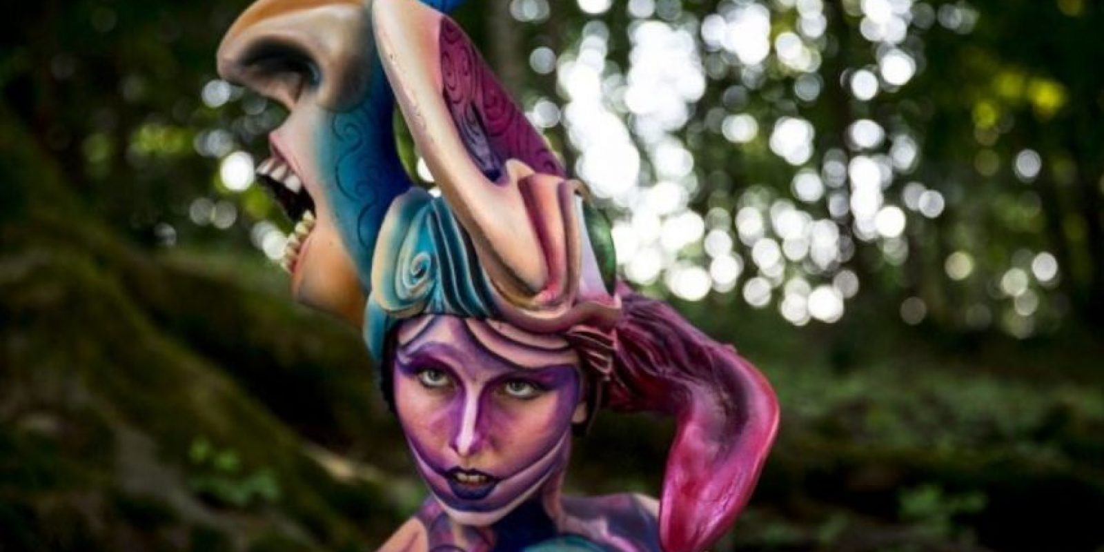 Festival Mundial de Bodypaint 2015 Foto: Getty Images