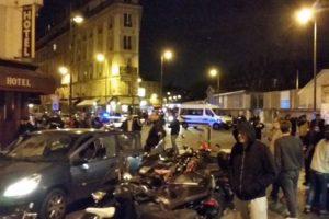 Las autoridades tratan de llegar a las escenas de estos incidentes. Foto:vía Twitter