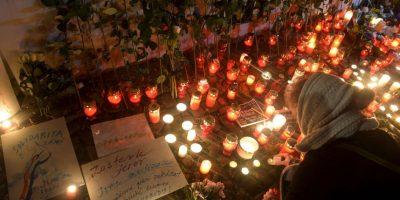 7 de enero- Charlie Hebdo Foto:AFP