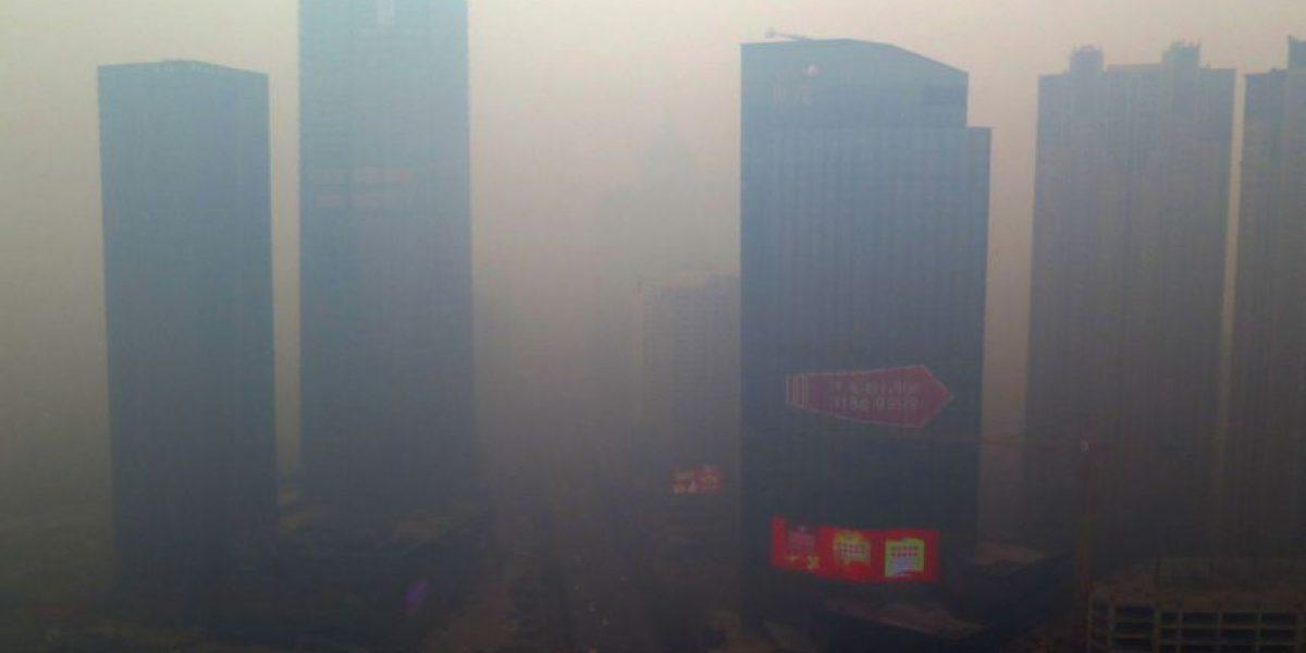 17 fotos que muestran los insólitos niveles de contaminación en China