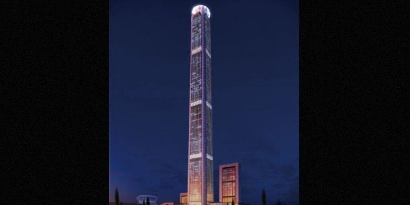 5. Goldin Finance 117 (China) – 128 pisos – 596 metros (1957 pies) Foto:Skyscrapercity.com