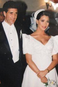 Se casó con el fotógrafo Francisco Luis Ricote el 12 de junio de 1993 Foto:Twitter/gabyrivero64