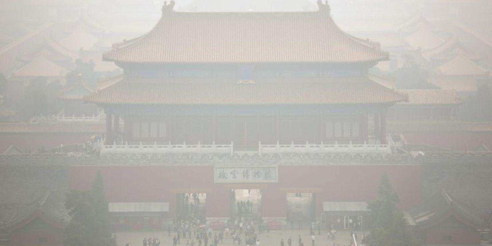 6. Cada año mueren en el mundo un millón 300 mil personas a causa de la contaminación urbana. Foto:AP