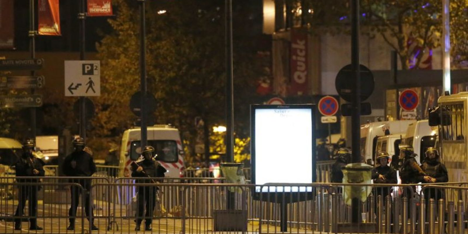 Hay heridos en las calles de la capital. Foto:AP