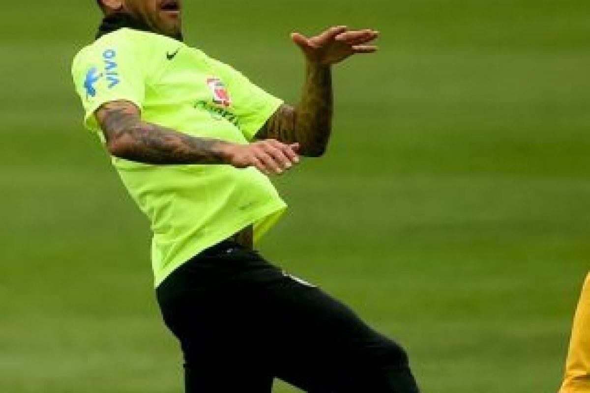 Como buen brasileño, el defensa del Barcelona tiene un físico envidiable. Foto:Getty Images