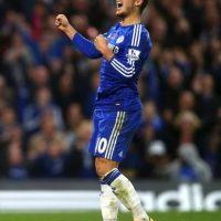 El belga del Chelsea no sólo conquista con su estilo de juego… Foto:Getty Images