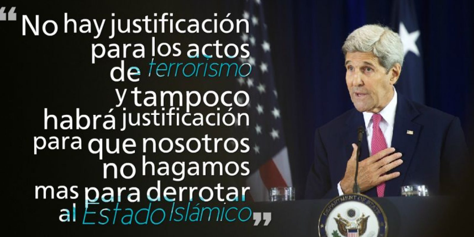 JOHN KERRY, Secretario de Estado de los Estados Unidos. Foto: Getty Images