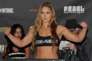 1. Ronda Rousey acusada de violencia doméstica Foto:Getty Images